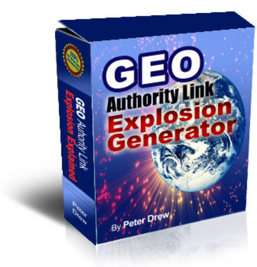 Product picture Geo Authority Link Explosion Generator ***FOR SALE $8.95***