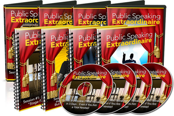 Product picture Public Speaking Extraordinaires Course @ $19.95