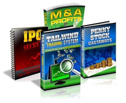Product picture Tailwind Trading System with 3 BONUS BOOKS Easy Safe